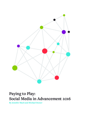 Paying to Play: Social Media in Advancement 2016