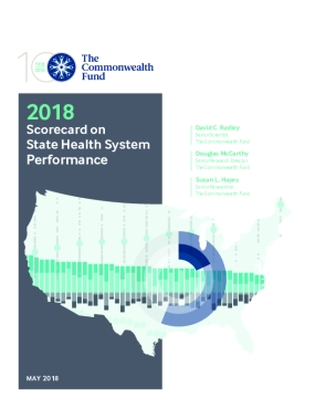 2018 Scorecard on  State Health System  Performance