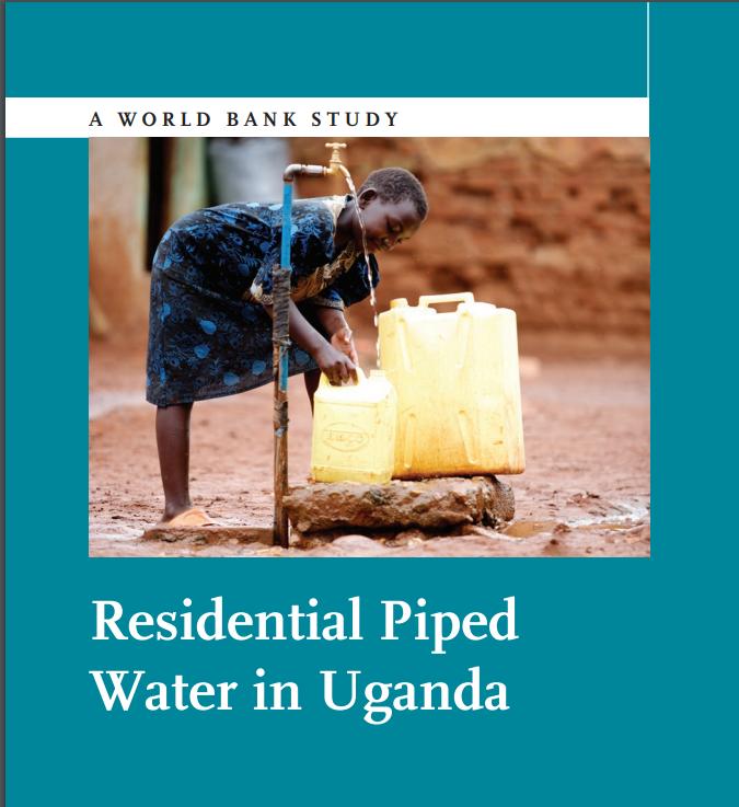 Residential Piped Water in Uganda